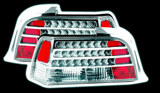 bmw E 36 2 door lexus lights